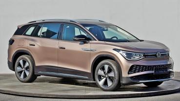 VW福斯大型電動休旅車ID.6 官方照意外提前曝光