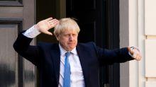 British pound gets brief  Johnson bounce
