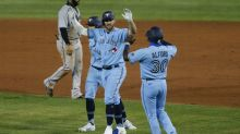 Blue Jays win first 'home' game in Buffalo, top Marlins in 10th