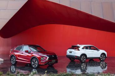 增加PHEV車型,更具科技感的小改款Mitsubishi Eclipse Cross發表!