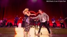 Kylie Minogue reunites with Jason Donovan for rare performance of Especially For You