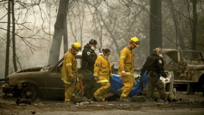 Crews search for missing victims of Calif. wildfire