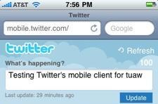 Twitter unveils new mobile version
