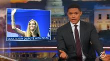 Trevor Noah Calls Out Ann Coulter for Victim Hypocrisy