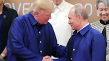 The New York Times is under fire for 'homophobic' cartoon of Trump and Putin