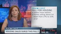 Expect housing sales surge this fall?