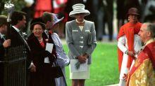 Todas las veces que Lady Di presumió de estilo como invitada de boda