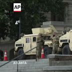 Heavy security presence at Georgia State Capitol