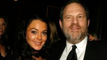 Lindsay Lohan comes to the defence of Harvey Weinstein