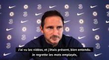 """38e j. - Lampard regrette """"les mots employés"""" lors de son altercation avec Klopp"""