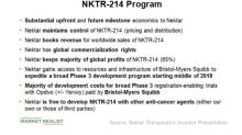 Analyzing NKTR's Collaboration with Bristol-Myers Squibb