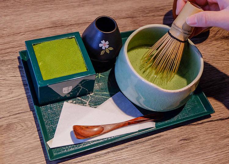 抹茶提拉米蘇 附抹茶體驗 (抹茶ティラミス(お茶付き) )1100  日元