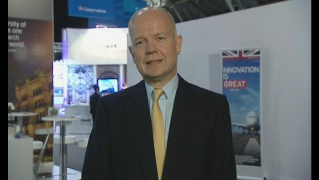 Hague: Tories 'very much in touch'