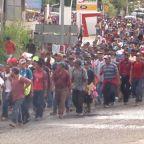 Trump threatens to shut down southern border over caravan of migrants