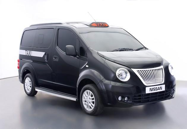 Nissan reinvents London's black cab again, will launch all-electric model in 2015