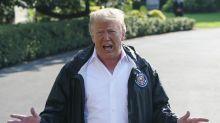 Trump: Republicanos tendrían que decidir sobre Kavanaugh