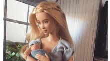 A Mom Made a Breastfeeding Barbie to Teach Kids About Parenting