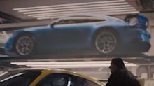 2021 Porsche 911 GT3 hiding in plain sight in Super Bowl ad?
