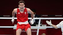 Irish boxer Aidan Walsh out of Olympics after he injured ankle celebrating win