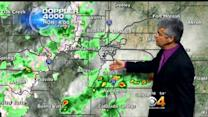 Monday Evening Forecast:  Showers and Storms to Continue Through the Week and the Weekend Ahead