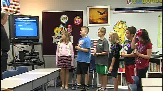Cedar Ridge Elementary Receives Classroom Jeopardy from TG&S