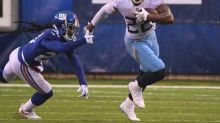 Titans RB Henry passes Campbell's two-game mark