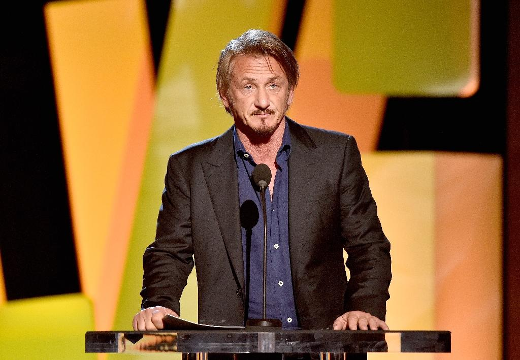"For his Rolling Stone magazine article, Sean Penn, pictured, agreed to let Mexican drug lord Joaquin ""El Chapo"" Guzman review the story first, a deal that drew criticism in journalism circles (AFP Photo/Kevork Djansezian)"