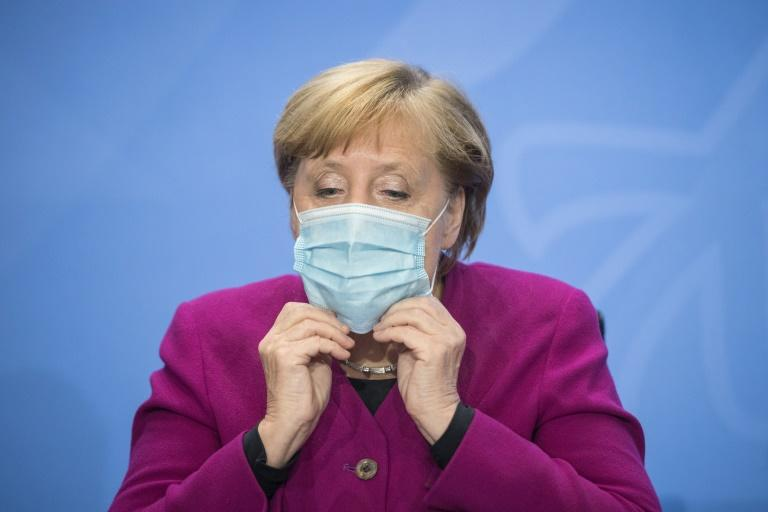 Angela Merkel also announced tougher measures on mask-wearing
