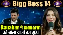 Bigg Boss 14: Sidharth Shukla And Gauahar Khan First Day Fight front of Salman