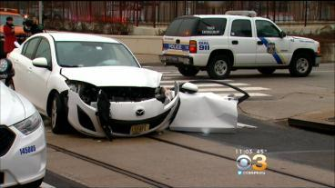 More Than 20 Injured After SEPTA Bus And Car Collide