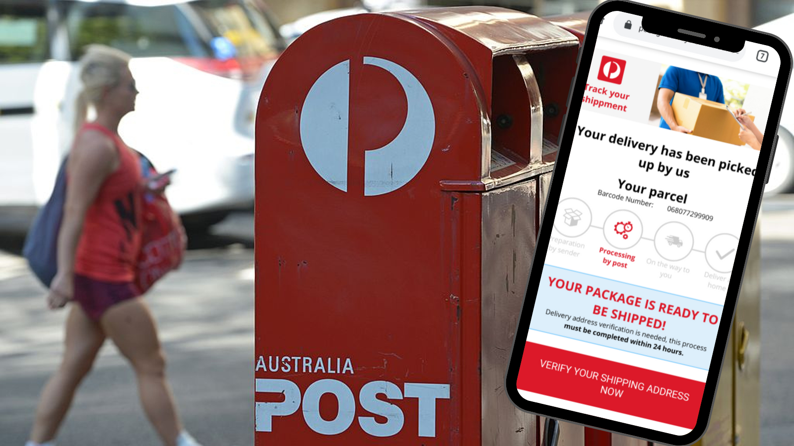 'Unverified': Australia Post warns of fresh text scam targeting Aussies