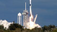 SpaceX interrompe lançamento de satélite dos EUA em primeira missão de segurança nacional