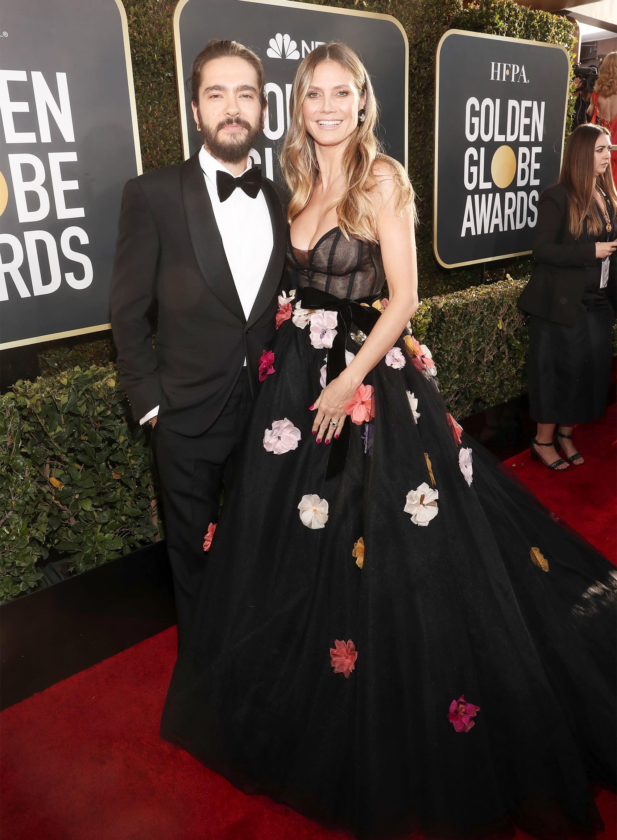 Heidi Klum And Fiance Tom Kaulitz Walk First Red Carpet Since