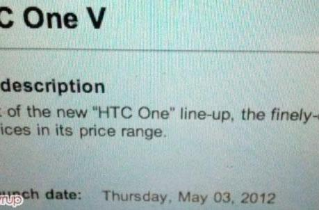 HTC One V coming to Canada on Bell, will reunite with One S