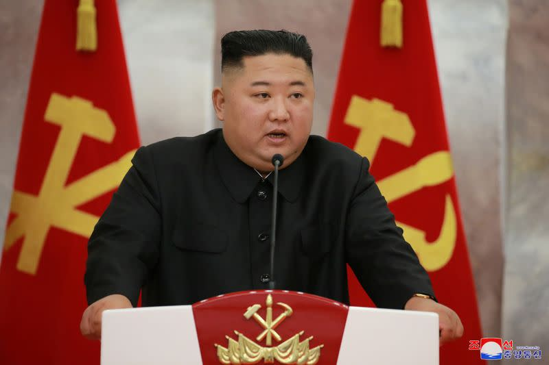 North Korea's Kim Says No More War Thanks to Nuclear Weapons