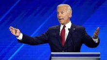 To Biden, they're not 'Bernie' or 'Elizabeth' but 'my colleagues'