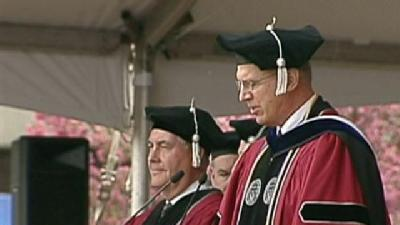 College Commencement Controversy
