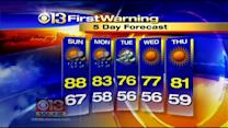 Tim Williams Has Your Saturday Morning Forecast