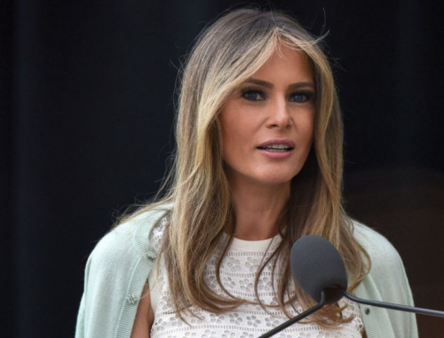 Melania Trump was honored at the annual First Lady's Luncheon in Washington.