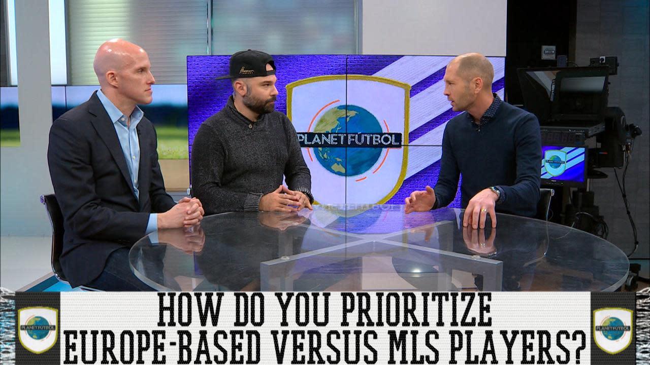1615eb743 Planet Futbol: New USMNT Head Coach Gregg Berhalter On Prioritizing MLS  Players [Video]