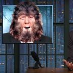 Seth Meyers Blames 'President Werewolf' For The Government Shutdown