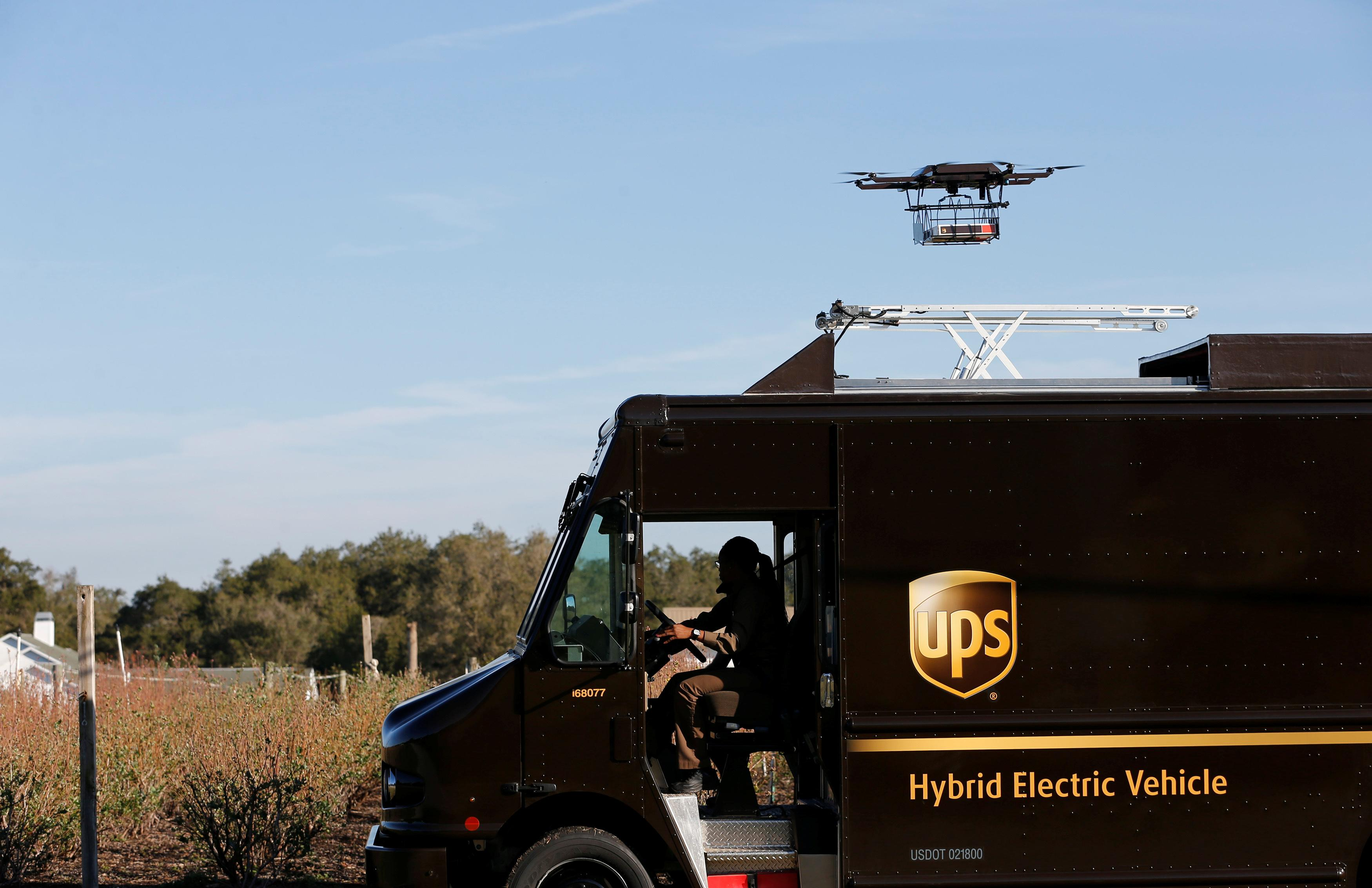 UPS has a new flight path — drone home delivery