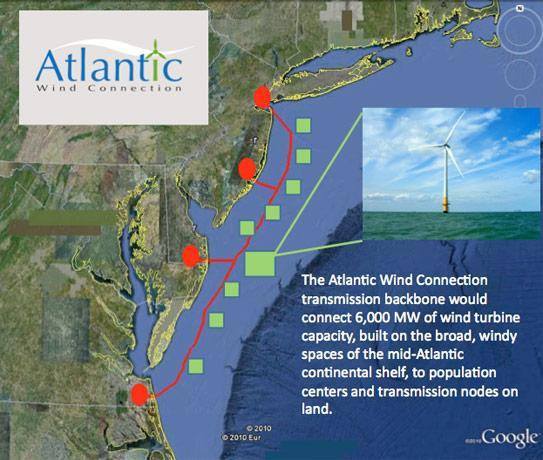 Google sinks cash into Atlantic Wind Connection offshore wind project