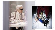 83 歲的 Karl Lagerfeld 原來也很愛美!首度公開私人護膚箱秘密,他愛用的面霜、香水就是它們!