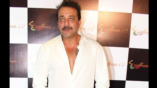 Sanjay Dutt at the launch of Saffron!