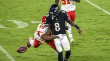 Lamar Jackson says Chiefs are 'our kryptonite' after another difficult loss