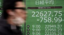 Asian markets extend losses as outbreak's ripple effects spread