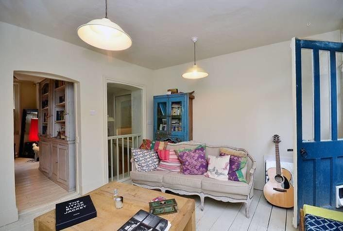 The house was originally a tavern but has since been transformed into a quirky home.