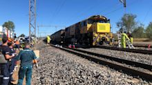 Driver killed as trains collide in Queensland