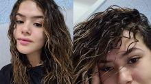 """Em transição capilar, Maisa pede desculpas para o cabelo: """"Vou tentar te amar"""""""